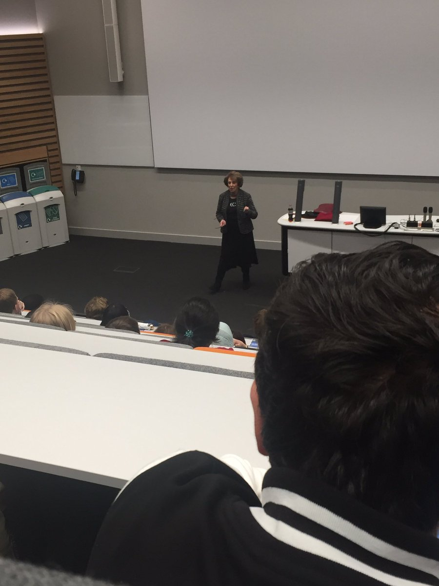 Edwina speaking at University of Warwick during a debate 21 Oct 2016